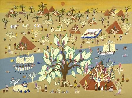Land of the Pharoahs by David Sheskin art print