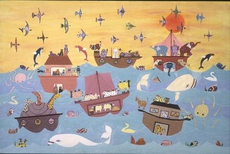Noah's Ark I by David Sheskin art print