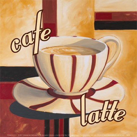 Cafe Latte by Trevor Green art print