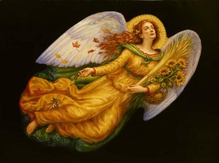 Angels 4 by Edgar Jerins art print