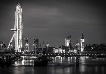 London Eye by Giuseppe Torre art print