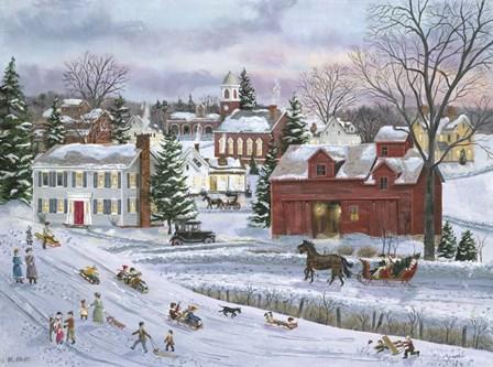 December Eve by Bob Fair art print