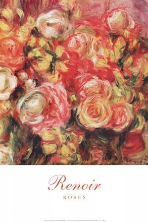 Roses by Pierre-Auguste Renoir art print