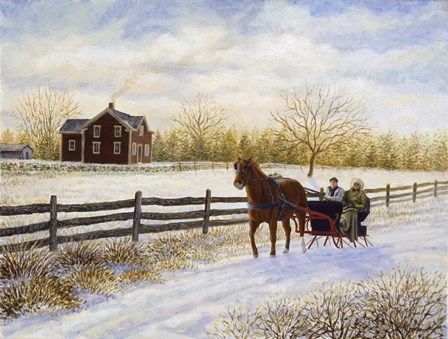 Winter's Day by Kevin Dodds art print