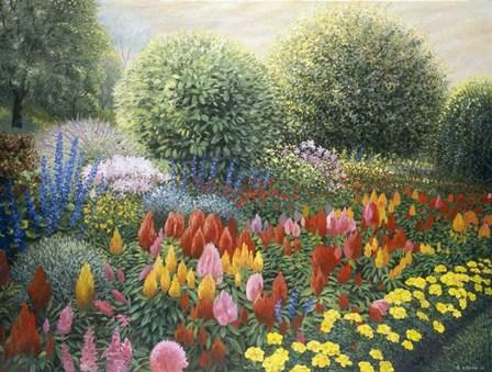 Ornamental Garden by Kevin Dodds art print