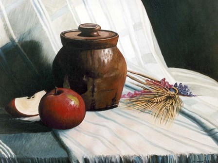After the Harvest Still Life by Kevin Dodds art print