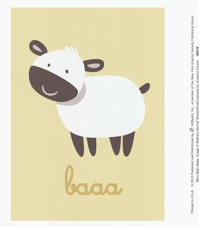 Barn Baby Baaa by Bethany Berndt Shackelford art print
