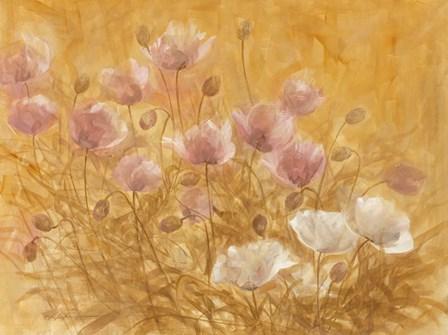 Irises III by Li Bo art print