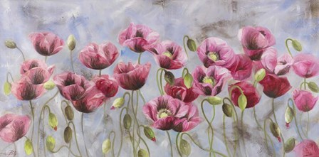 Field of Poppies by Li Bo art print