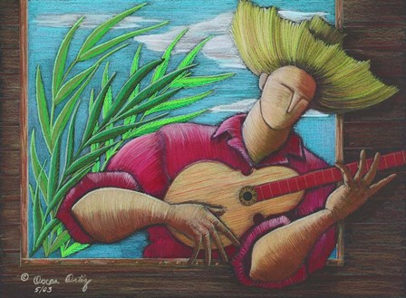 Serenade by Oscar Ortiz art print