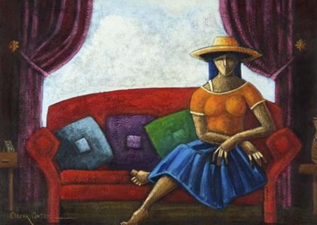 Summers Last Romance by Oscar Ortiz art print
