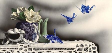 Breaking Free by Sandra Willard art print