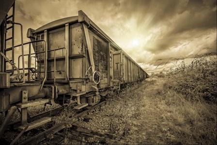 Lost Train by Sebastien Lory art print