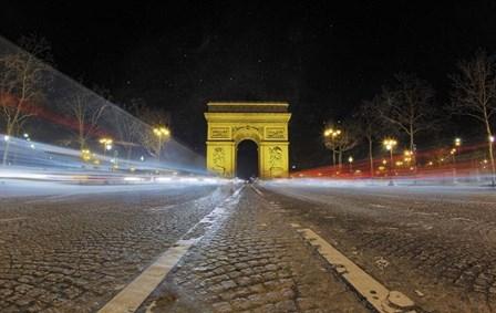 Champs Elysees I by Sebastien Lory art print