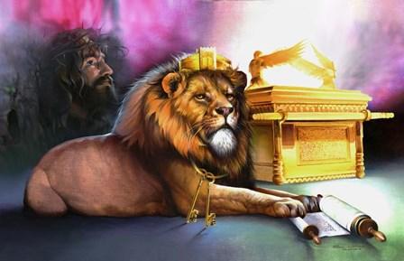 Ark Of Covenant by Spencer Williams art print