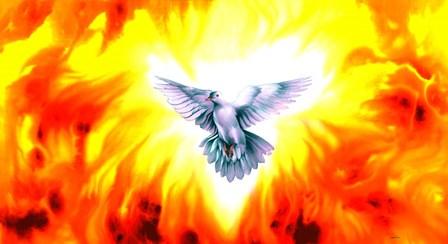 Holy Spirit Fire by Spencer Williams art print