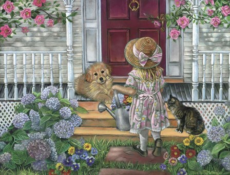 Home Sweet Home by Tricia Reilly-Matthews art print