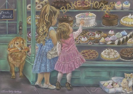 Baked With Love by Tricia Reilly-Matthews art print