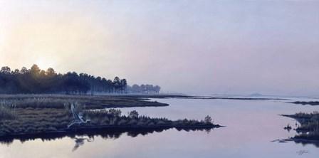 Blackwater Sunrise by Wilhelm J. Goebel art print