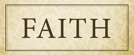 Faith Plaque by Dallas Drotz art print