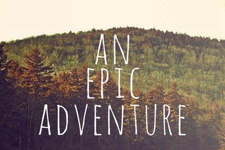 An Epic Adventure by Vintage Skies art print