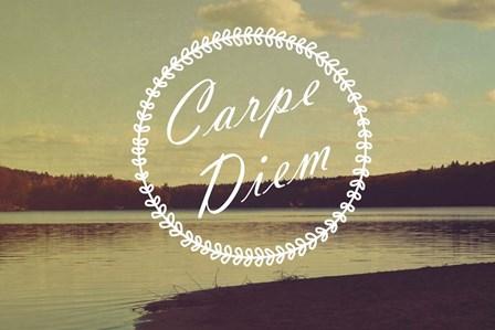 Carpe Diem by Vintage Skies art print