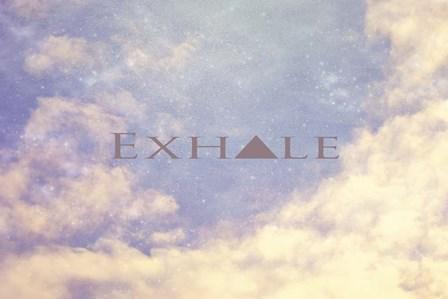 Exhale by Vintage Skies art print