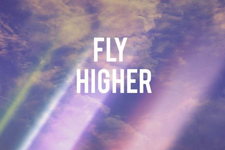 Fly Higher by Vintage Skies art print