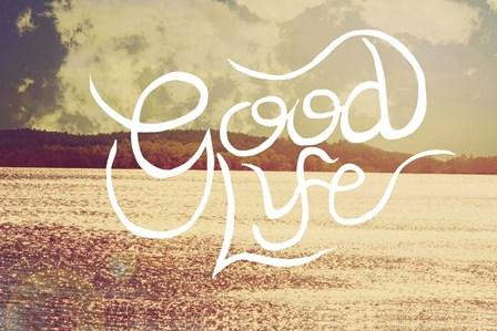 Good Life by Vintage Skies art print