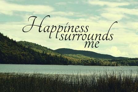 Happiness by Vintage Skies art print