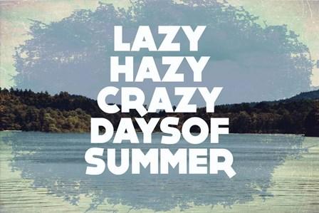 Hazy Days Of Summer by Vintage Skies art print