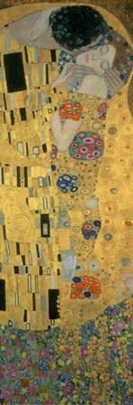 The Kiss (Panel Detail) by Gustav Klimt art print
