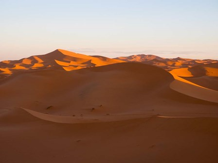 Erg Chebbi Dunes, Errachidia Province, Morocco by Panoramic Images art print