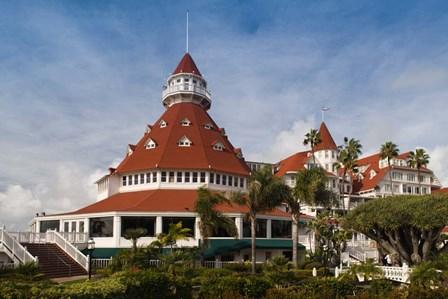 Hotel del Coronado, Coronado, San Diego County by Panoramic Images art print