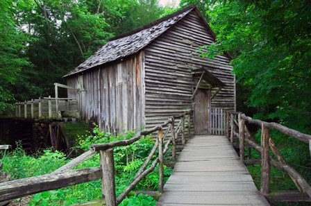 Cable Mill at Cades Cove, Tennessee by Panoramic Images art print
