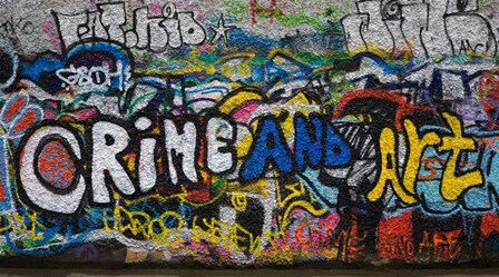 Grafitti on the U2 Wall, Windmill Lane, Dublin, Ireland by Panoramic Images art print