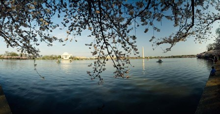 Jefferson Memorial, Potomac River, Washington DC by Panoramic Images art print