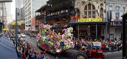 Mardi Gras Festival, New Orleans, Louisiana by Panoramic Images art print