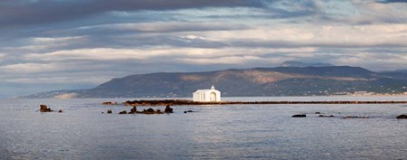Chapel in the Sea, Georgioupoli, Crete, Greece by Panoramic Images art print