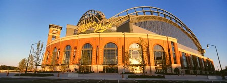 Miller Park, Milwaukee, WI by Panoramic Images art print