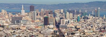 San Francisco, California by Panoramic Images art print