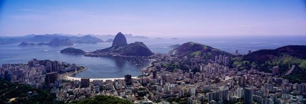 View of Rio De Janeiro, Brazil by Panoramic Images art print