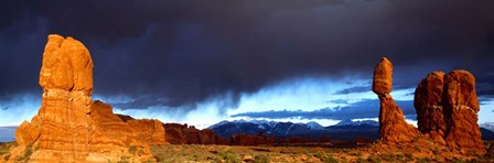 Thunderstorm Arches National Park, UT by Panoramic Images art print