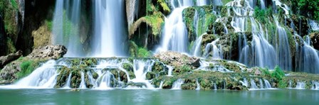 Waterfall Snake River, Bonneville CO, Idaho by Panoramic Images art print