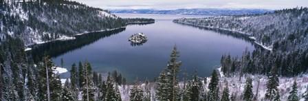 Emerald Bay, Lake Tahoe, CA by Panoramic Images art print