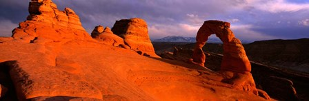 Mountains in Arches National Park, Utah by Panoramic Images art print