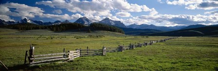 Sawtooth Mountains, Idaho by Panoramic Images art print