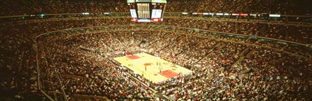 Chicago Bulls, Chicago, Illinois by Panoramic Images art print