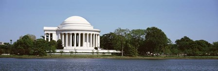 Jefferson Memorial, Washington DC (pano) by Panoramic Images art print