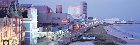 Atlantic City, New Jersey by Panoramic Images art print